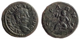 Thrace, Serdica. Caracalla. AD 198-217. Æ 19, Infant Hercules.