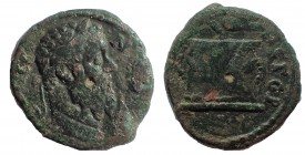 Caesarea Germanica, Bithynia. Pescennius Niger AD 193-194. Ae 16. Finest of two known examples.