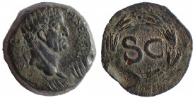 Galba. AD 68-69. Æ As 30mm. 16.4 gm. Antioch mint.