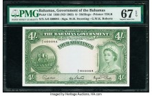 Bahamas Bahamas Government 4 Shillings 1936 (ND 1963) Pick 13d PMG Superb Gem Unc 67 EPQ.   HID09801242017  © 2020 Heritage Auctions | All Rights Rese...
