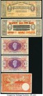 Belgian Congo, Martinique and Mexico Group Lot of 5 Examples Fine-Very Fine. Splits on the overprinted 10 pesos example.  HID09801242017  © 2020 Herit...