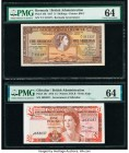 Belize, Bermuda and Gibraltar Group of 4 Graded Examples PMG Gem Uncirculated 66 EPQ (2); Choice Uncirculated 64 (2).   HID09801242017  © 2020 Heritag...