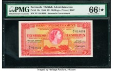 Bermuda Bermuda Government 10 Shillings 1.10.1966 Pick 19c PMG Gem Uncirculated 66 EPQ S.   HID09801242017  © 2020 Heritage Auctions | All Rights Rese...