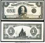 Canada Dominion of Canada $1 2.7.1923 DC-25 Front and Back Photographic Proofs Crisp Uncirculated.   HID09801242017  © 2020 Heritage Auctions | All Ri...