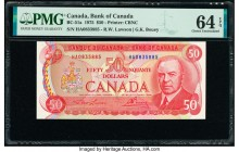 Canada Bank of Canada $50 1975 Pick 90a BC-51a PMG Choice Uncirculated 64 EPQ.   HID09801242017  © 2020 Heritage Auctions | All Rights Reserved