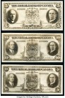 Canada Royal Bank of Canada 1935 Denomination Set of Three Photographic Proofs Crisp Uncirculated.   HID09801242017  © 2020 Heritage Auctions | All Ri...