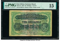 East Africa East African Currency Board 10 Shillings 1.1.1933 Pick 21 PMG Choice Fine 15.   HID09801242017  © 2020 Heritage Auctions | All Rights Rese...