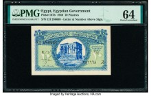 Egypt Egyptian Government 10 Piastres 1940 Pick 167b PMG Choice Uncirculated 64.   HID09801242017  © 2020 Heritage Auctions | All Rights Reserved