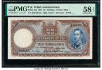 Fiji Government of Fiji 10 Shillings 1.6.1951 Pick 38k PMG Choice About Unc 58 EPQ.   HID09801242017  © 2020 Heritage Auctions | All Rights Reserved