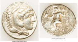 MACEDONIAN KINGDOM. Alexander III the Great (336-323 BC). AR tetradrachm (27mm, 17.13 gm, 8h). Choice Fine. Late lifetime-early posthumous issue of Ar...