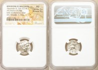MACEDONIAN KINGDOM. Alexander III the Great (336-323 BC). AR drachm (17mm, 4.29 gm, 12h). NGC AU 5/5 - 5/5. Early posthumous issue of Lampsacus, ca. 3...