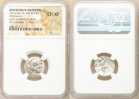 MACEDONIAN KINGDOM. Alexander III the Great (336-323 BC). AR drachm (18mm, 11h). NGC Choice XF. Posthumous issue of Magnesia ad Maeandrum, ca. 319-305...