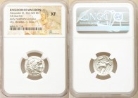 MACEDONIAN KINGDOM. Alexander III the Great (336-323 BC). AR drachm (18mm, 1h). NGC XF. Posthumous issue of Magnesia as Maeandrum, ca. 323-319 BC. Hea...