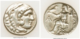 MACEDONIAN KINGDOM. Alexander III the Great (336-323 BC). AR drachm (17mm, 4.27 gm, 5h). Choice VF. Posthumous issue of Magnesia, ca. 319-305 BC. Head...