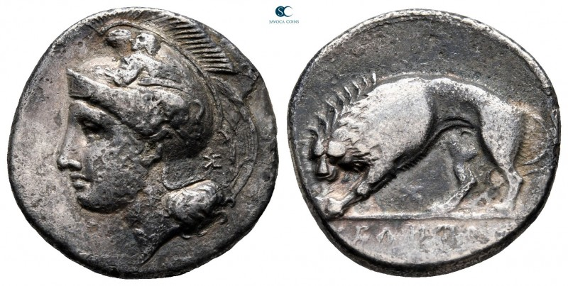 Lucania. Velia circa 400-300 BC. 