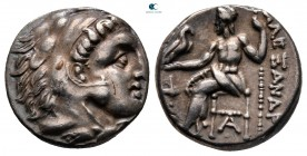 Kings of Macedon. Sardeis. Philip III Arrhidaeus 323-317 BC.  In the name and types of Alexander III. Struck under Menander or Kleitos, circa 322-319/...