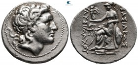 Kings of Thrace. Magnesia on the Maeander. Macedonian. Lysimachos 305-281 BC. Struck circa 297-281 BC. Tetradrachm AR