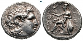 Kings of Thrace. Uncertain mint possibly in Thrace. Macedonian. Lysimachos 305-281 BC. Tetradrachm AR
