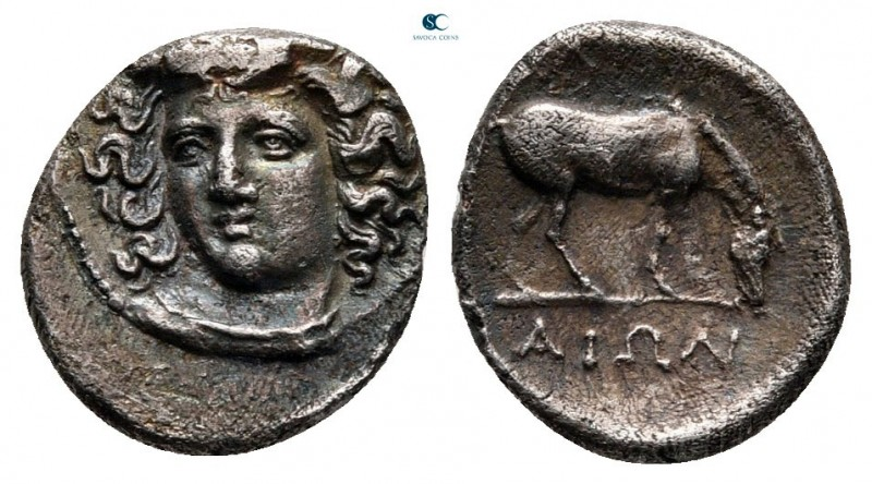 Thessaly. Larissa circa 344-337 BC. 