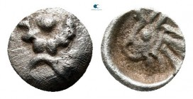 Western Asia Minor. Uncertain mint circa 520-480 BC. 1/96 Stater AR