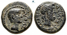 Phrygia. Laodikeia ad Lycum. Pseudo-autonomous issue AD 14-37. Time of Tiberius. ΠΥΘΗΣ ΠΥΘΟΥ (Pythes, son of Pythes), magistrate. Bronze Æ