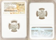 MACEDONIAN KINGDOM. Alexander III the Great (336-323 BC). AR drachm (18mm, 6h). NGC Choice XF. Posthumous issue of Lampsacus, ca. 310-301 BC. Head of ...