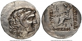 THRACE. Mesambria. Ca. 125-65 BC. AR tetradrachm (34mm, 16.27 gm, 11h). NGC MS 4/5 - 3/5, brushed. Late posthumous issue in the name and types of Alex...