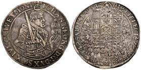 Germany. Sachsen. Johan Georg I. 1 thaler. 1648. CR. (Dav-7612). (Km-425). Ag. 28,63 g. Choice VF. Est...320,00. 