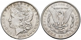 United States. 1 dollar. 1889. Philadelphia. (Km-110). Ag. 26,72 g. Almost XF. Est...35,00. 