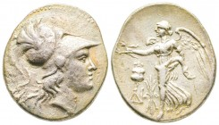 Minor Asia, Pamphylia, Side, Tetradrachm, 190-36 BC, AG 16.29 g.  XF