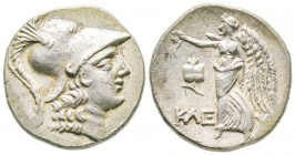Minor Asia, Pamphylia, Side, Tetradrachm, 120-80 BC, AG 15.9 g. Ref : BMC.43 XF