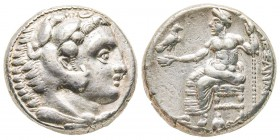 Macedonia, Alexander III The Great, Tetradrachm, 336-323 BC, AG 17.11 g. Ref : Sear 6713/140 XF