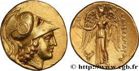 MACEDONIA - MACEDONIAN KINGDOM - ALEXANDER III THE GREAT Type : Statère d'or  Date : c. 333-327 AC  Mint name / Town : Tarse, Cilicie  Metal : gold  D...