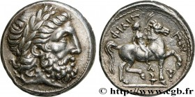 MACEDONIA - MACEDONIAN KINGDOM - CASSANDER Type : Tétradrachme  Date : 315/314 - 295/294 AC.  Mint name / Town : Macédoine, Amphipolis  Metal : silver...