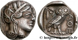 ATTICA - ATHENS Type : Tétradrachme  Date : c. 430 AC.  Mint name / Town : Athènes  Metal : silver  Diameter : 24,5  mm Orientation dies : 2  h. Weigh...