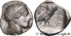 ATTICA - ATHENS Type : Tétradrachme  Date : c. 430 AC.  Mint name / Town : Athènes  Metal : silver  Diameter : 25  mm Orientation dies : 2  h. Weight ...