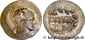 IONIA - HERACLEA AD LATNUM Type : Tétradrachme stéphanophore  Date : c. 150 AC  Mint name / Town : Héraclée, Ionie  Metal : silver  Diameter : 31,5  m...