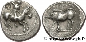 PAMPHYLIA - ASPENDOS Type : Drachme  Date : c. 425-375 AC.  Mint name / Town : Aspendos  Metal : silver  Diameter : 19  mm Orientation dies : 11  h. W...