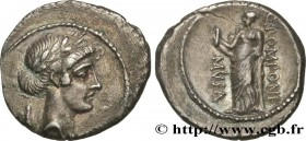 POMPONIA Type : Denier  Date : 66 AC.  Mint name / Town : Rome  Metal : silver  Millesimal fineness : 950  ‰ Diameter : 19  mm Orientation dies : 12  ...