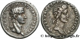 CALIGULA and AGRIPPINA THE ELDER Type : Denier  Date : 38  Mint name / Town : Lyon  Metal : silver  Millesimal fineness : 900  ‰ Diameter : 18,5  mm O...