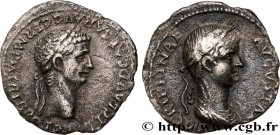CLAUDIUS AND AGRIPPINA THE YOUNGER Type : Denier  Date : 50-51  Mint name / Town : Lyon  Metal : silver  Millesimal fineness : 950  ‰ Diameter : 17,5 ...