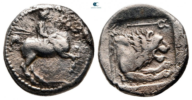 Kings of Macedon. Aigai. Perdikkas II 451-413 BC. 
