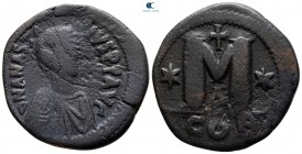 Anastasius I AD 491-518. From the Tareq Hani collection. Constantinople. Follis or 40 Nummi Æ