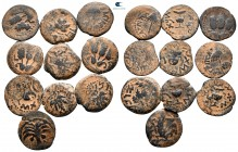 Lot of ca. 10 judaean prutah / SOLD AS SEEN, NO RETURN!nearly very fine