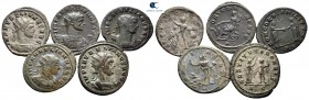 Lot of ca. 5 antoniniani of Aurelian / SOLD AS SEEN, NO RETURN!very fine