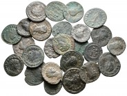Lot of ca. 25 roman bronze coins / SOLD AS SEEN, NO RETURN!very fine