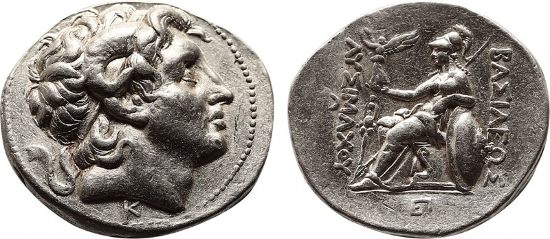 KINGS OF THRACE. Lysimachos, 305-281 BC. Tetradrachm (Silver, 29 mm, 17.11 g, 1 ...
