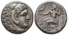 KINGDOM of MACEDON. Alexander III 'the Great',327-323 BC. AR Tetradrachm  Condition: Very Fine  Weight: 15,7 gram Diameter: 24,7 mm