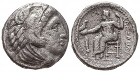 KINGDOM of MACEDON. Alexander III 'the Great',327-323 BC. AR Tetradrachm  Condition: Very Fine  Weight: 16,9 gram Diameter: 25,4 mm