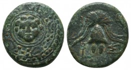 KINGDOM of MACEDON.Alexander III 'the Great',327-323 BC. Ae  Condition: Very Fine  Weight: 3,9 gram Diameter: 16,5 mm